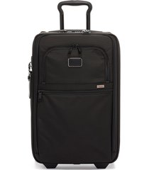 men's tumi apha 2 collection 22-inch international expandable wheeled carry-on -