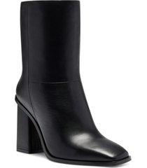 vince camuto women's dantania block-heel dress booties women's shoes