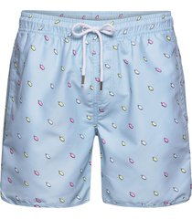 swim shorts ice creams badshorts blå dedicated