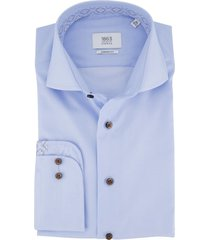 eterna overhemd blauw modern fit