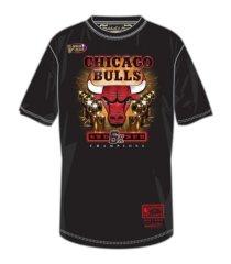 mitchell & ness chicago bulls men's bulls 6x trophy t-shirt