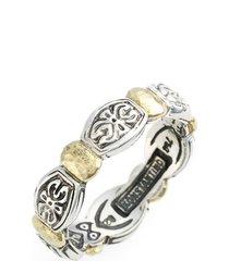women's konstantino 'aspasia' hammered band ring