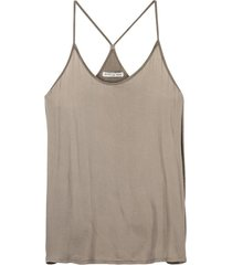 circle of trust top taupe