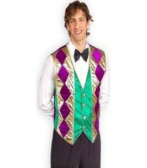 buy seasons men's mardi gras vest costume