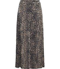 slkamiko skirt knälång kjol grå soaked in luxury