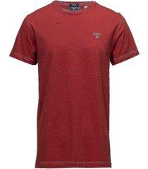 original ss t-shirt t-shirts short-sleeved röd gant