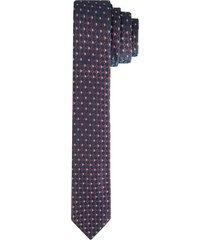 corbata pala ancha en poliéster con textura para hombre 03664