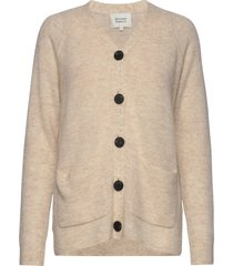 chantell knit cardigan gebreide trui cardigan beige second female