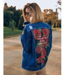 kurtka jeansowa forever wild
