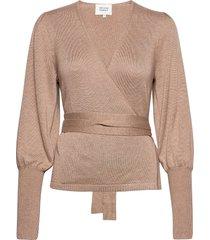 ebba knit cardigan stickad tröja cardigan beige second female