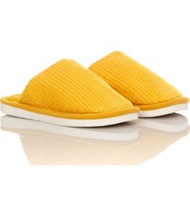 slippers comfy colors mujer amarillo