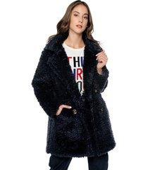 abrigo azul paris district
