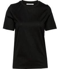 deiro t-shirts & tops short-sleeved zwart tiger of sweden