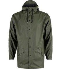 rains regenjas jacket green
