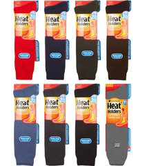 heat holders - mens extra long winter warm thick 2.3 tog knee high thermal socks