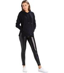 leggings rivkyshop efecto cuero negros
