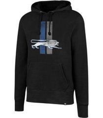 '47 brand men's detroit lions retro knockaround hoodie