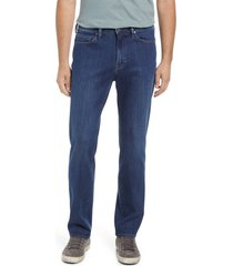 men's 34 heritage charisma men's relaxed fit jeans, size 38 x 34 - blue