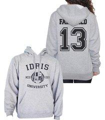 fairchild 13 idris university shadowhunter unisex hoodie s - 3xl lightsteel
