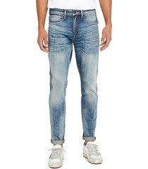 buffalo david bitton men's james-x tapered-fit jeans - indigo - size 33 32