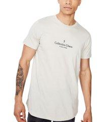 cotton on men's longline scoop neck t-shirt