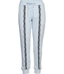 cuff pant sweatpants mjukisbyxor blå adidas originals