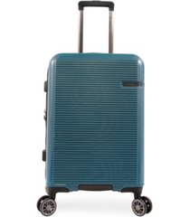"""brookstone nelson 21"""" hardside carry-on luggage with charging port"""