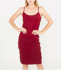 vestidos vinotinto derek 815776