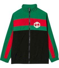 gucci multicolor jacket with logo
