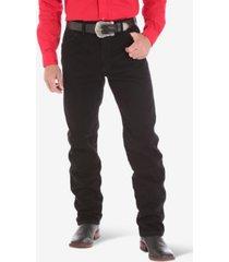 wrangler men's cowboy cut original fit straight fit jeans