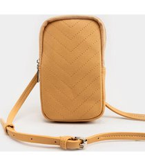 mariah wallet cellphone case - nude