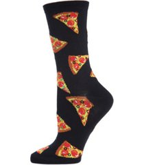 memoi pizza slice women's novelty socks