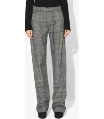 proenza schouler plaid suiting pants black/white 2
