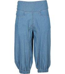 jeans capri (blu) - rainbow
