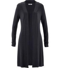 giacca lunga in maglina (nero) - bpc bonprix collection