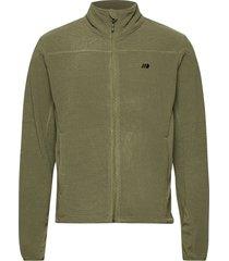 åelva fleece jacket sweat-shirts & hoodies fleeces & midlayers grön skogstad