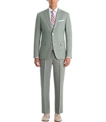 lauren by ralph lauren classic fit linen suit separates coat sage