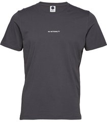 ethan print tee 3208 t-shirts short-sleeved grå nn07