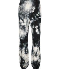 off-white tie-dye effect sweatpants