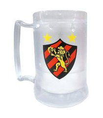 caneca gel sport recife incolor 400ml escudo