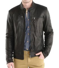 handmade mens fashion leather jacket, men leather jacket, bomber leather jacket