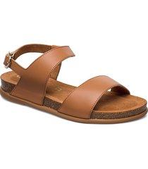 canovas_nf shoes summer shoes flat sandals brun unisa