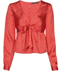 blouse guess new ls gwen top