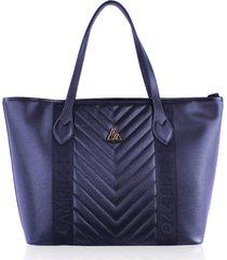 bolsa sacola campezzo couro preto