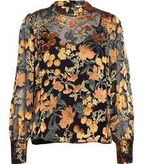 mirador blouse blouse lange mouwen zwart just female