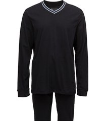 jbs pajamas long sleeves/legs pyjamas svart jbs