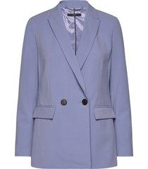 blazers woven blazer colbert blauw esprit collection