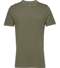 pocket t-shirt t-shirts short-sleeved grön gap