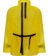 helmut lang tech milky jacket