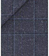 giacca da uomo su misura, vitale barberis canonico, principe di galles lana seta, primavera estate | lanieri